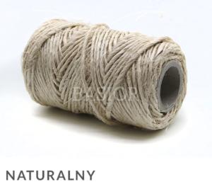 sznurek sizalowy naturalny