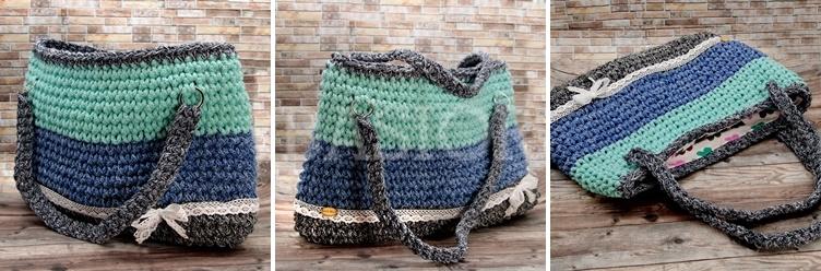 torebka ze sznurka bawełnianego