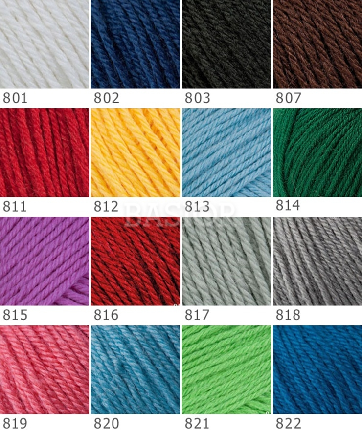 Wzornik Baby Wool