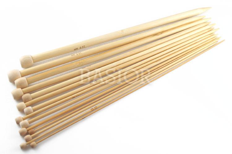 Proste druty bambusowe