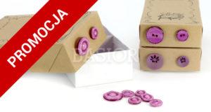guziki konfekcjonowane-fioletowe