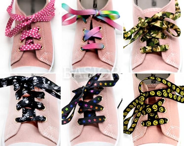 wzornik sznurówek kolorowych