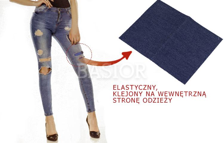 łaty jeans