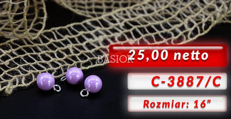 3887-c guziki perełki
