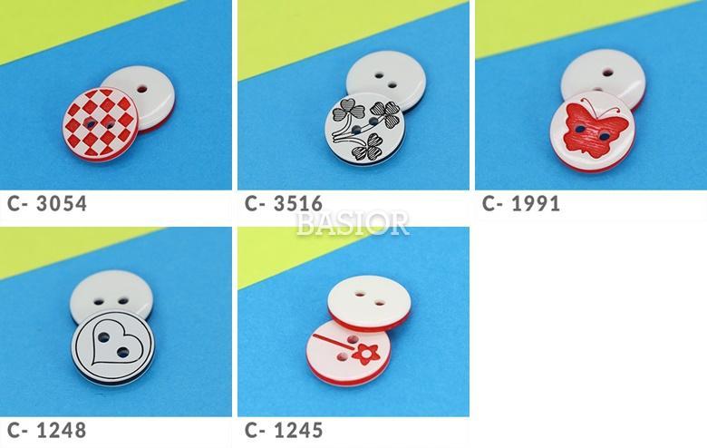 komplet guzików dziurka-3-AA modele