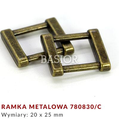 Ramka metalowa 780830-c