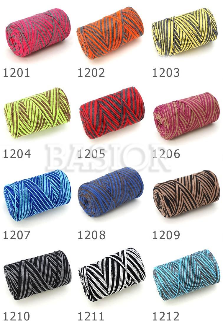 wzornik kolorów Macrame cotton jazzy A