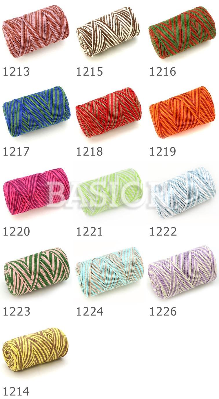 wzornik kolorów Macrame cotton jazzy B