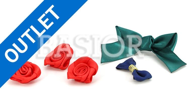 ozdobne różyczki i kokardki